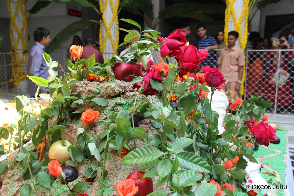 Govardhan Annakut Darshan  At ISKCON Juhu on 31st Oct 2016 (36)