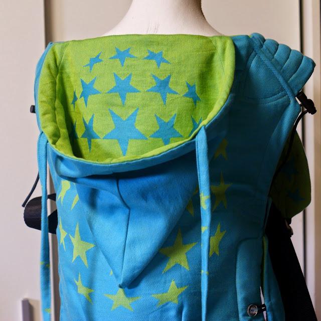 Hoppediz Los Angeles Turquoise Reversible Wrapconversion SSC - MamaMerel