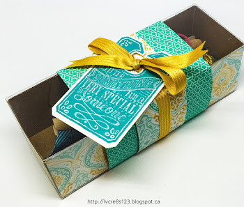 Linda Vich Creates: Catalog Party Prep Part 1. An array of Tag A Bag Gift Boxes in coordinating colors graced the stamping tables of our Catalog Launch Party 2016!