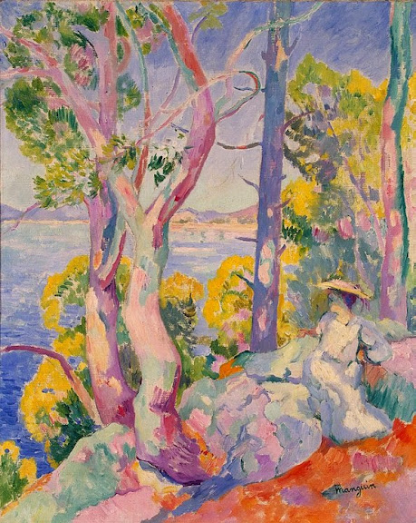 Henri-Charles Manguin - Morning at Cavaliere, 1906