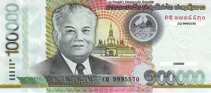 dinheiro laos