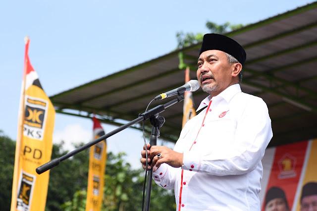 Kampanye Asyik Diisi Doa Ahmad Syaikhu