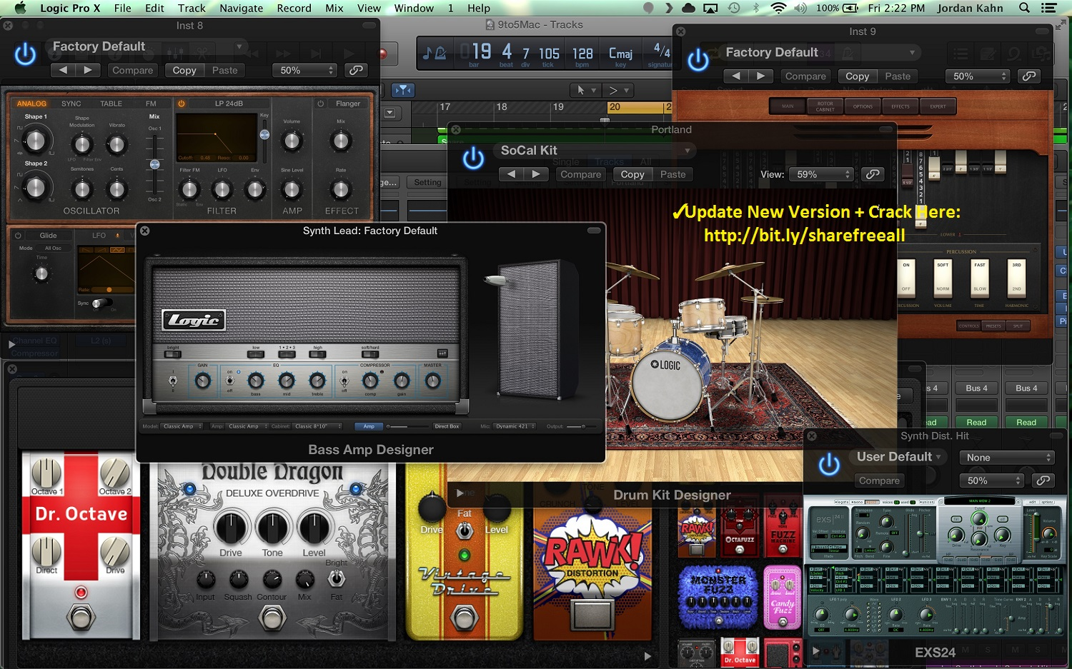 logic pro x 10.2 3 download