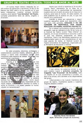 Benazahar (AMPA Maravillas) nº 72 Junio 2007