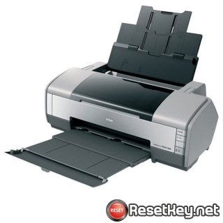 Reset Epson 1390 printer Waste Ink Pads Counter