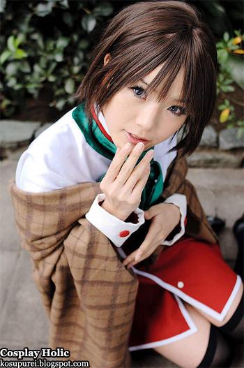 kanon cosplay - misaka shiori