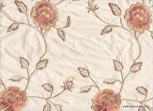 Photo: Mysore 13 - Euphoria Series Embroidery - Cream