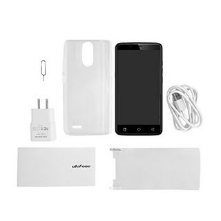 "OCDAY Ulefone Android 6.0 LTE Mobile Phone Smartphone, MTK6753,8 Octa Core,5.5"" Screen,2GB RAM 16GB ROM,5MP 13MP Dual Camera,Fingerprint Unlock,Dual SIM Cards Dual Standby (Black)"