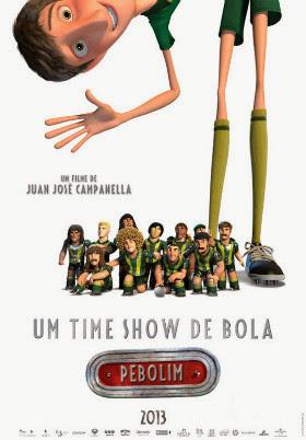 Filme Poster Um Time Show de Bola TS XviD & RMVB Dublado