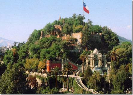 Cerro de Santa Lucia Santiago