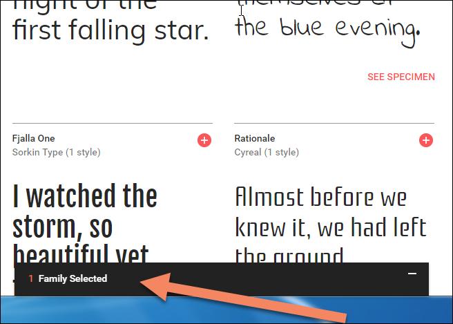 Google Fonts in blogspot einbinden Teil2