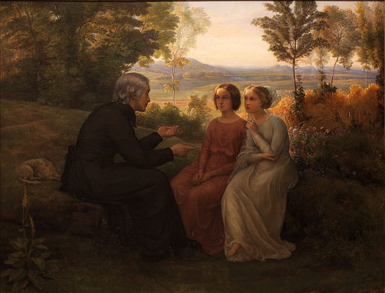 Louis Janmot - Poem of the Soul - The weed grain