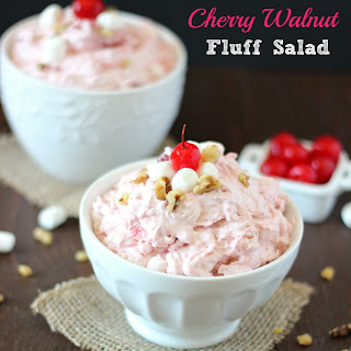 Cherry Walnut Fluff Salad