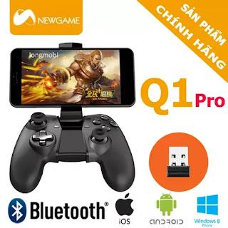 newgamepad q1 pro tay cam choi game bluetooth