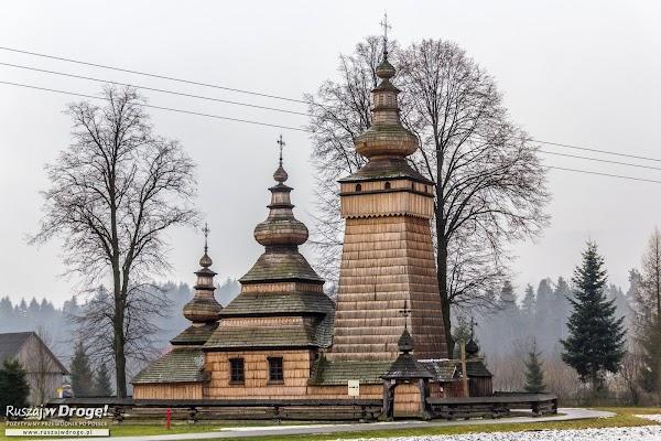 Drewniana cerkiew w Kwiatoniu
