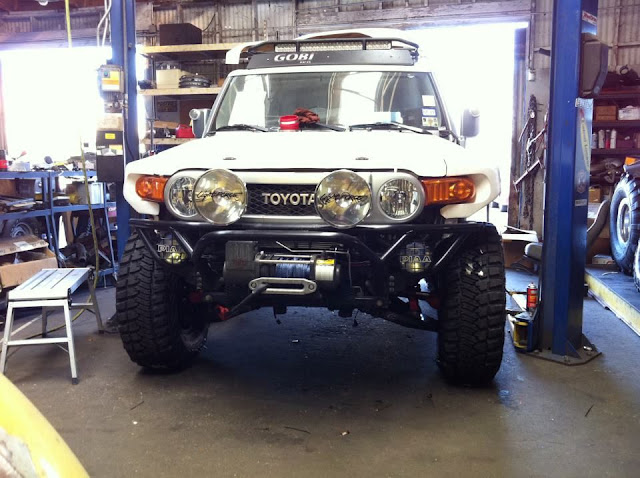 What did you do TO your FJ Cruiser TODAY? - Page 1671