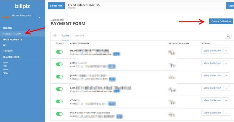 BillPlz Payment Form