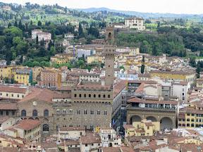 Palazzo Vecchio from the Duomo