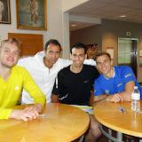 James Willstrop, Amr Shabana, Mohamed El Shorbagy, Nick Matthew