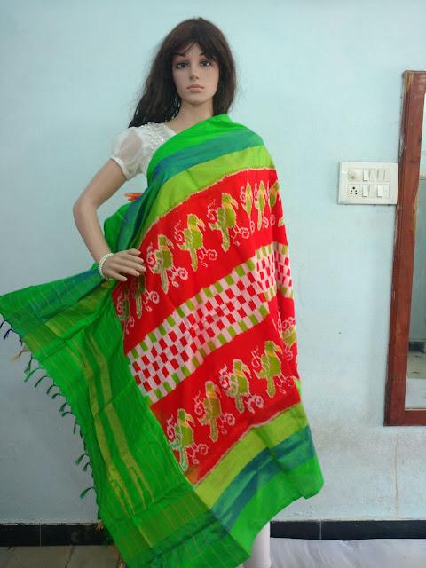 Pochampally  silk Dhuppatas, uppada.om@gmail.com