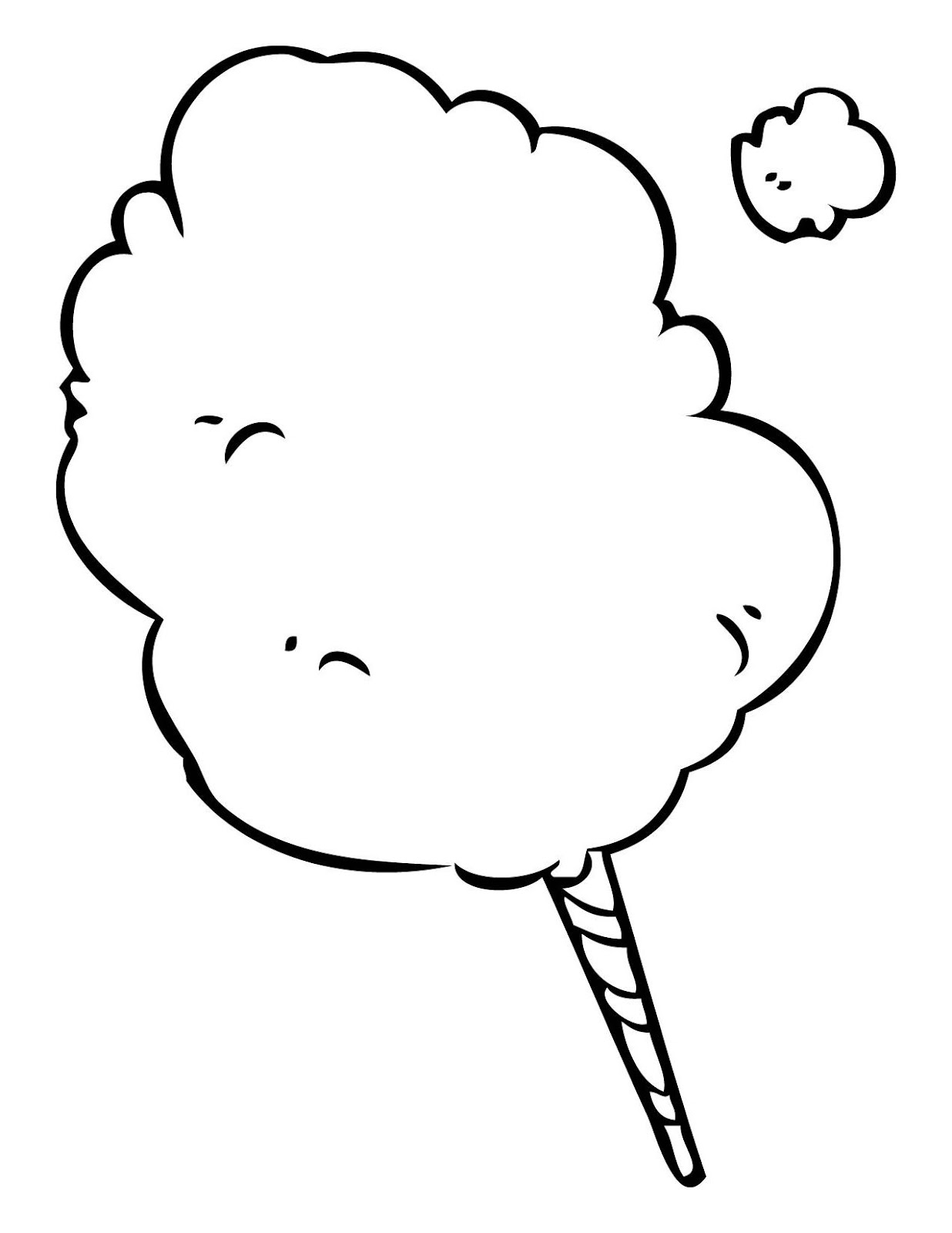 cotton candy coloring page hadil 39 s blog free coloring pages