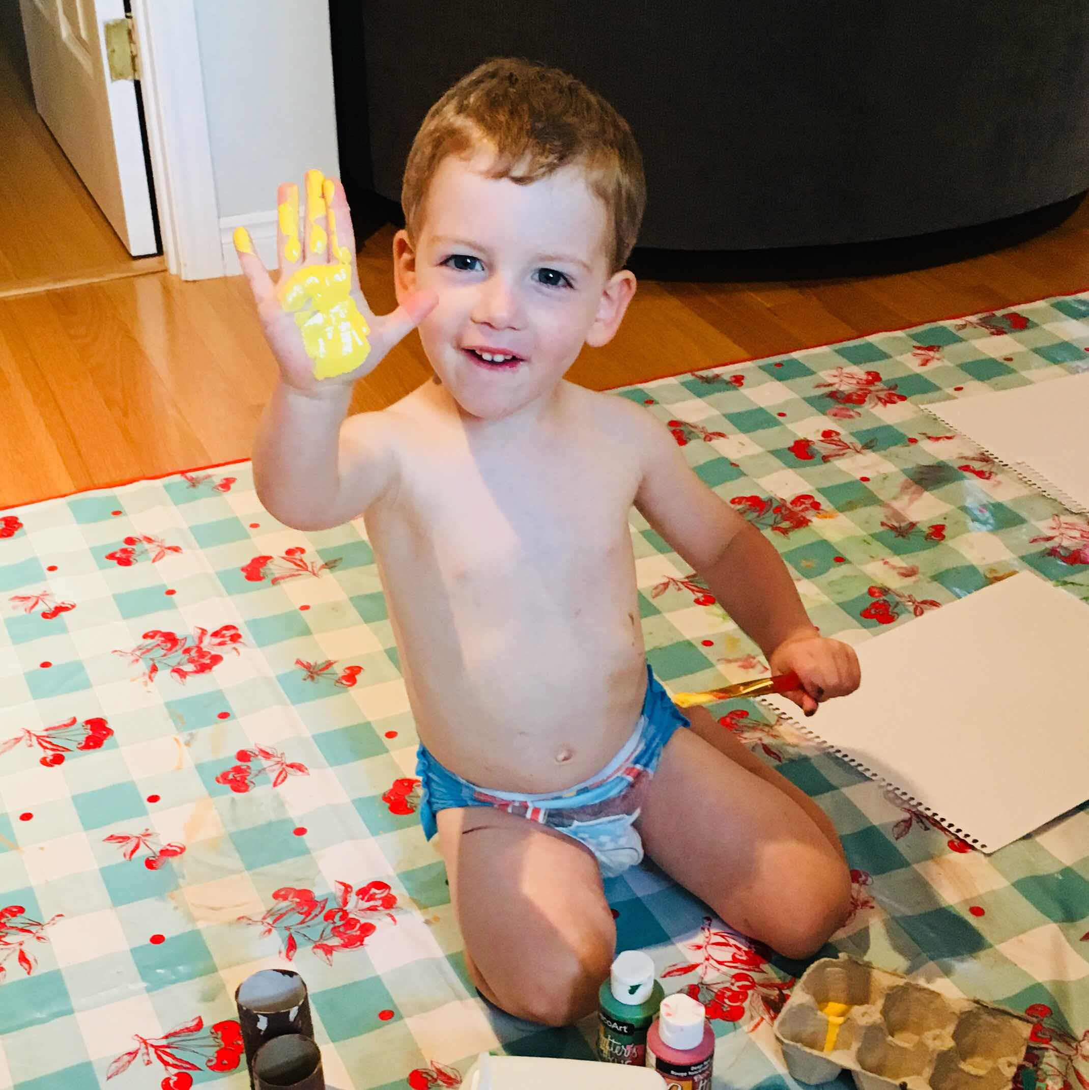 toddler Turkey craft