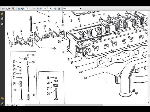 32 Ferguson To30 Parts Diagram
