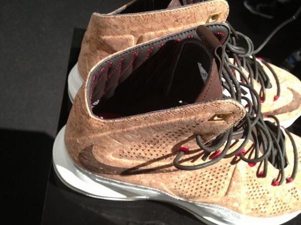 Nike LeBron X NSW Cork Has Been Put on a Display