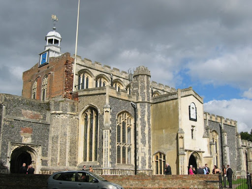 parish church of st mary the virgin in east bergholt