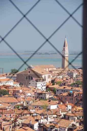 Vue depuis le campanile de la basilique Saint-Marc.