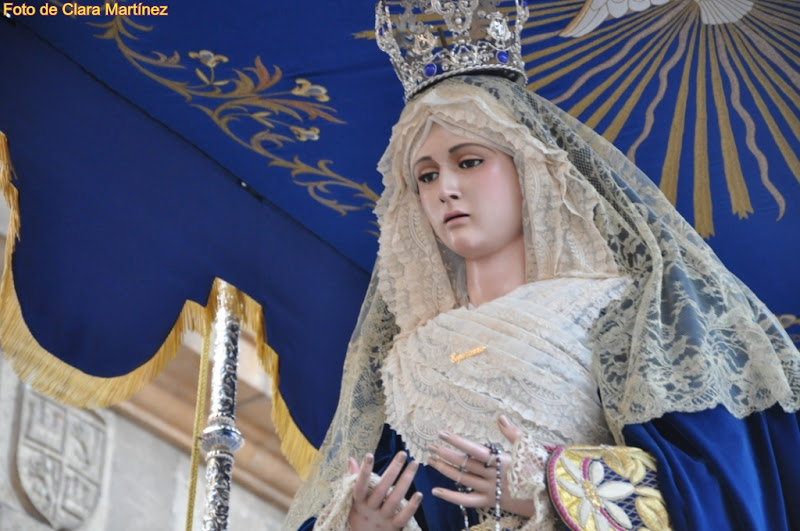 Semana Santa leonesa: Virgen de la Esperanza