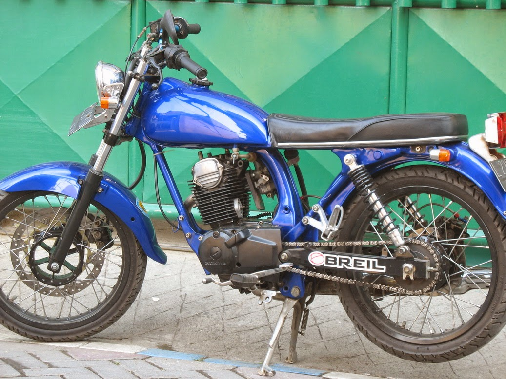 Deskripsi Gambar Honda Tiger Modifikasi Cb Nganjuk :