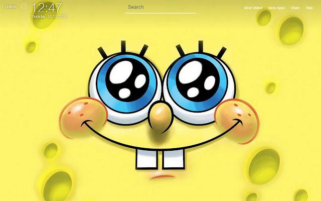Sponge Bob Squarepants Wallpapers HD New Tab