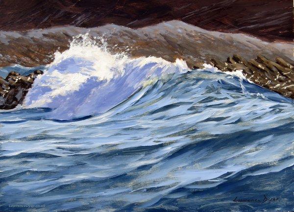 Fat Wave. Artist Lawrence Dyer