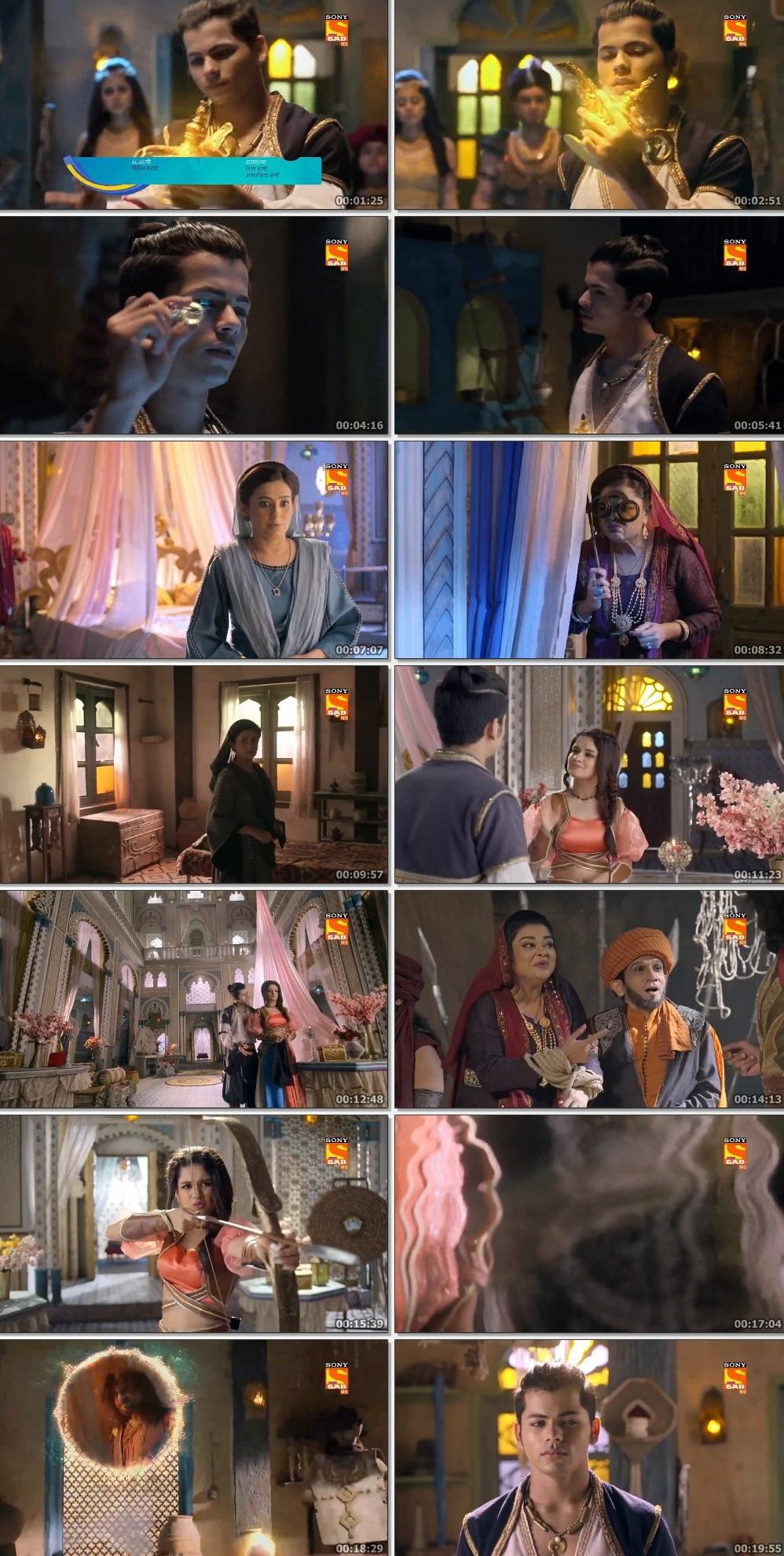 Screenshots Of Hindi Show Aladdin – Naam Toh Suna Hoga 2019 Episode 292 300MB 720P HD