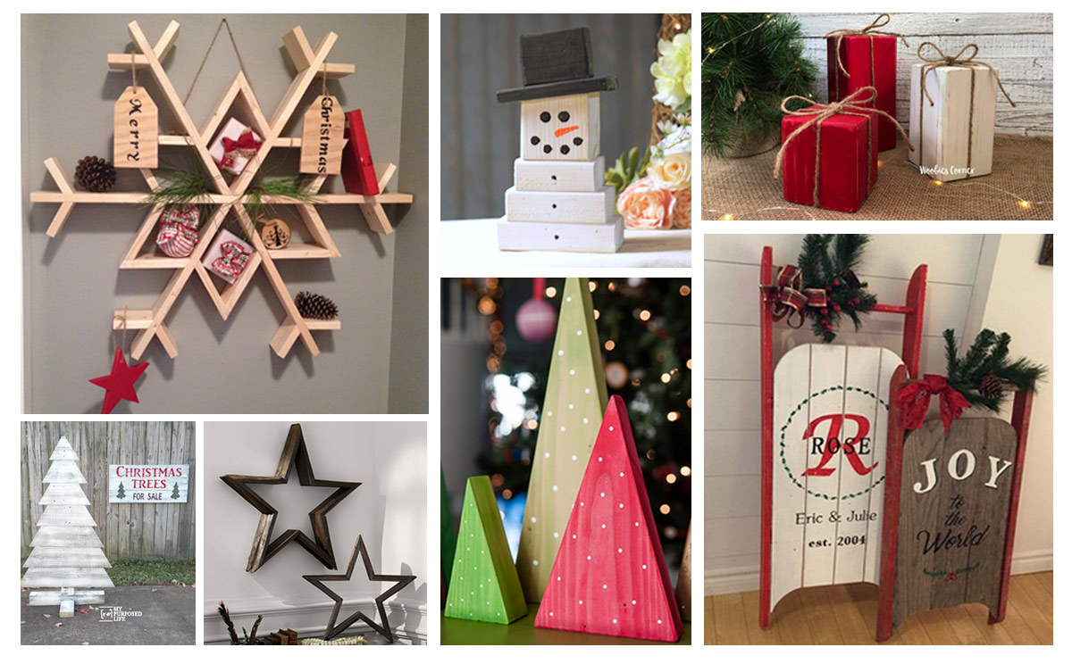 15 Holiday Woodworking Projects The Kim Six Fix