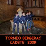 TORNEO BERGERAC CADETES 2009