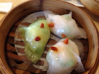 Shrimp and fish dumplings