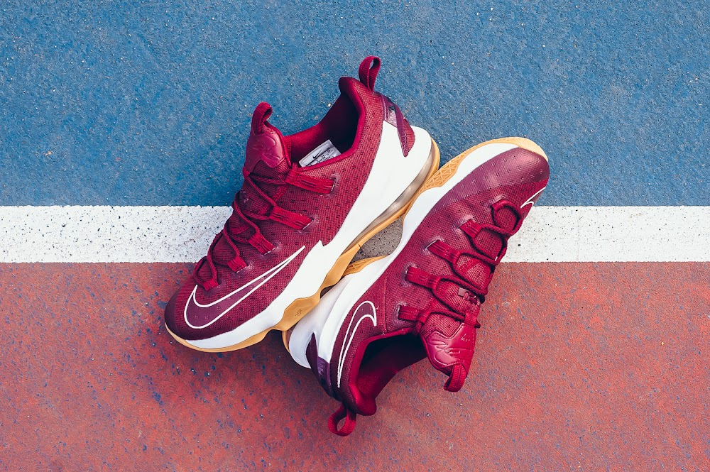 sale retailer eae4e b63ea ... Cavs Nike LeBron XIII Low Arriving in Stores Early ...