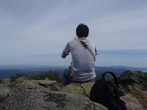 Photo: 雌阿寒岳は火山規制でした
