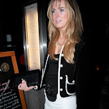 WWW.ENTSIMAGES.COM -  Kimberley Garner   at   Floridita cocktail Bar  Launch of the Rum Shack at  100 Wardour St, London February 1st 2013                                                        Photo Mobis Photos/OIC 0203 174 1069