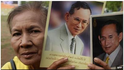 タイ国王在位70年