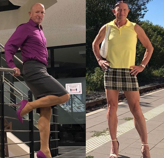 Married Father-of-three Wears Skirts And Stiletto Heels To Challenge Gender Stereotypes (Photos)