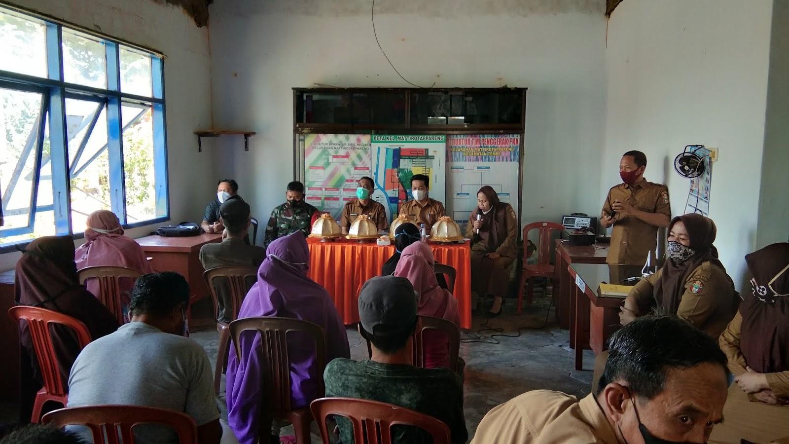 Rembug Warga Sosialisasi Bantuan Stimulan Perumahan Swadaya (BSPS) DAK Tahun Anggaran 2021