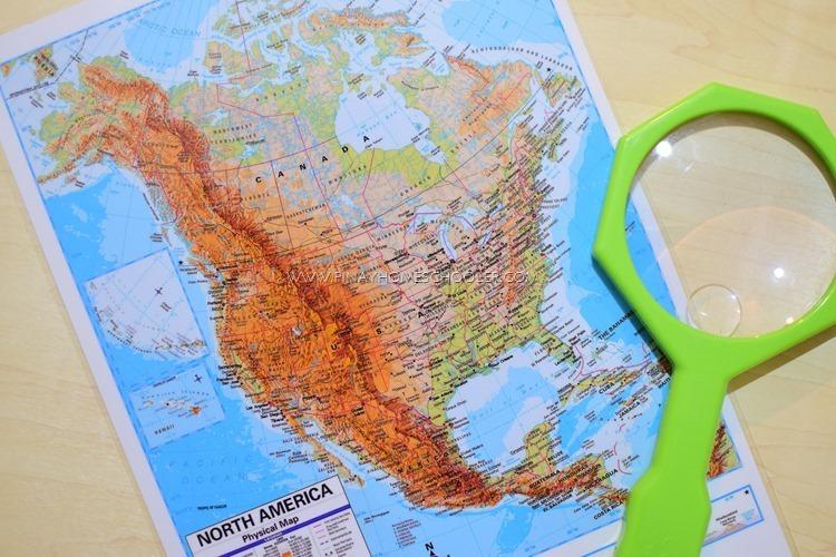 The Pinay Homeschooler Montessori Inspired North America Study