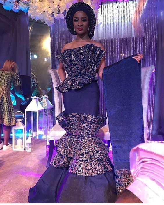 Latest African Dresses Long Prom Sleeve 2019 1