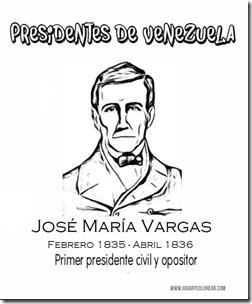 José María Vargas - jugarycolorear com