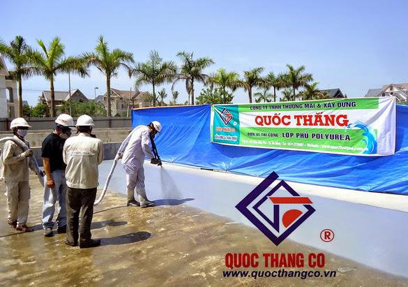 Thi công chống thấm - Bảo vệ công trình 2013