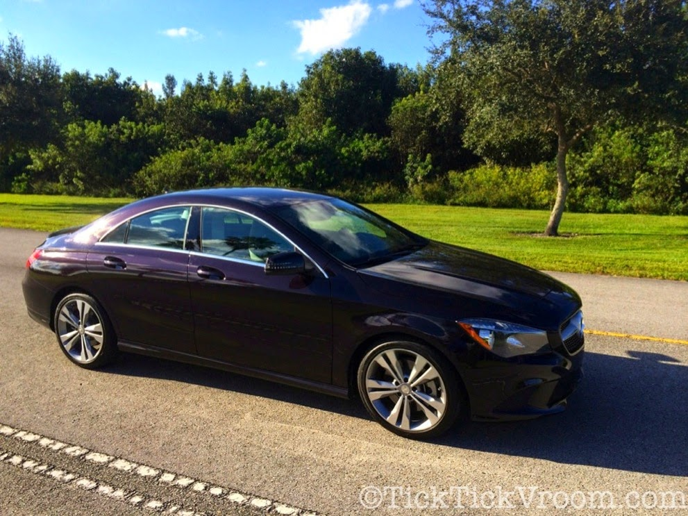 2014 Mercedes-Benz CLA250 Long-Term Test Car - Northern Lights Violet Metellic Long Term Review Road Test 4068