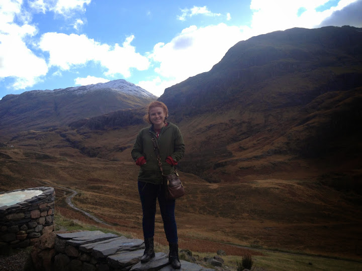 Me in the Highlands in Scotland.Kaytlin Nowell #StudyAbroadBecause you deserve to have your life changed